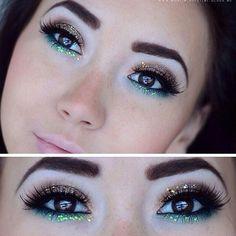 Eye makeup..very pretty!