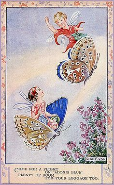 Riding Butterflies {Rene Cloke}
