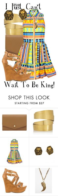 """""""I Just Can't Wait To Be King!"""" by tallybow ❤ liked on Polyvore featuring Mulberry, Hervé Van Der Straeten, MSGM, Disney Couture, G by Guess and Alkemie"""