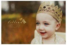 Gold lace crown to fit Newborns - Toddlers on etsy Lace Crowns, Gold Lace, Perfect Photo, Photo Props, Vintage Inspired, Newborns, Toddlers, Princess, Trending Outfits
