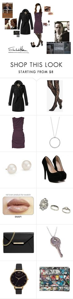 """""""The Reichenbach Fall"""" My Outfit (Part One: Trial of James Moriarty"""" by liv4marvel94 ❤ liked on Polyvore featuring Burberry, Express, Roksanda Ilincic, Roberto Coin, Blue Nile, Topshop, MICHAEL Michael Kors, Episode, Reichenbach and Olivia Burton"""