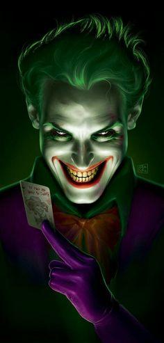 My Joker Illustration! Finally, after many, many days of sorrows, I finally finished it! My first complex digital painting! The Joker Comic Book Characters, Comic Character, Comic Books Art, Comic Art, Photos Joker, Joker Images, Le Joker Batman, Joker And Harley Quinn, The Joker