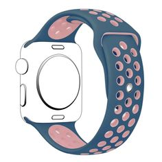 a99975a3b60 Dual-Color Silicone Strap Apple Watch Sport band – PhoNecessity Cute Apple  Watch Bands