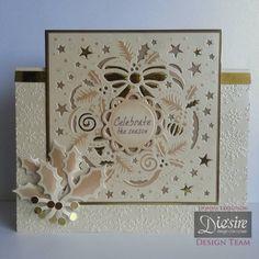 Create-A-Card Christmas Wreath by Donna