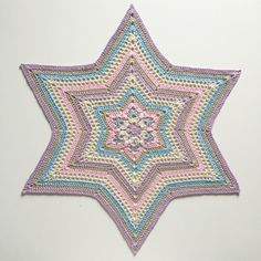 English and Swedish pattern. Twinkle twinkle little star…this is my star design, you can crochet the star to a small star a big star, doily..coaster..blanket…maybe a rug? To my stars i …