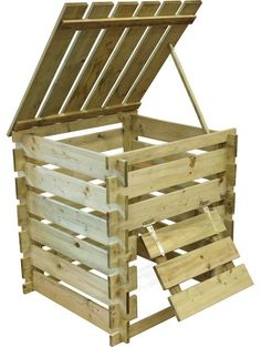 Stylish compost? Not an oxymoron. Here are 10 of our favorite wood compost bins, in sizes to fit all gardens: