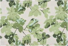 Fig Leaf fabric by P
