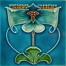 Afbeeldingsresultaat voor tiles art nouveau