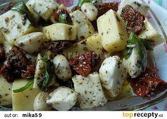Marinovaná mozzarella recept - TopRecepty.cz
