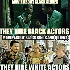 this world was built on the backs of the black race. America especially, don't forget that. We are the queens and kings of this unpromising society.