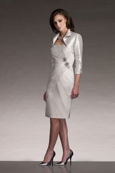 Mother of the Bride Dress Social Occasions by Mon Cheri 210881 at frenchnovelty.com