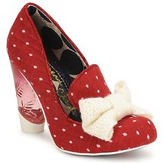 Court-shoes Irregular Choice BOWTIFUL Red