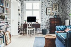 office22017_Kristin_Lagerqvist Decorating Blogs, Pantone, Color Combinations, Gallery Wall, Dining Room, Lounge, Interior Design, Bedroom, Architecture