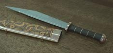 Vinterbjörn- viking long seax sword / knife. Description from pinterest.com. I searched for this on bing.com/images