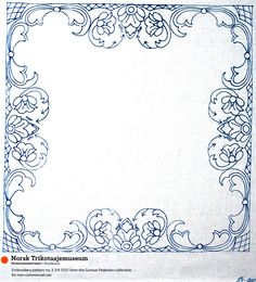 collection of Gunner Pederson patterns for small tablecloths or napkins.
