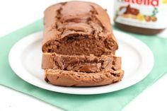 Nutella Swirl Quick Bread   Kirbie's Cravings
