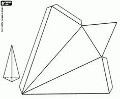 malvorlagen Eine dreieckige basierend Pyramide ausmalbilder