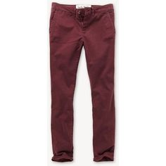 Jack Wills Hollingworth Chino ($70) ❤ liked on Polyvore featuring pants, bottoms, jeans, pantalones, damson and jack wills