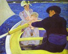 Mary Cassatt's The Boating Party