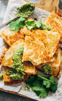 Quick & Easy Lentil Quesadillas #recipe #quesadillas #lentils