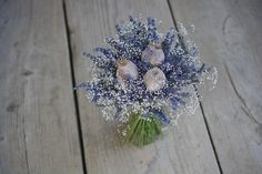 Dried flowers bouquet, lavender, gypsophila and poppy heads Dried Flower Bouquet, Dried Flowers, Gypsophila, Poppy, Lavender, Ideas, Flower Preservation, Thoughts, Dry Flowers
