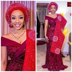 latest aso ebi styles out 2019 Lovely Asoebi Styles for Events Nigerian Wedding Dress, African Wedding Attire, Nigerian Bride, African Weddings, Aso Ebi Lace Styles, Kente Styles, Traditional Wedding Attire, Traditional Dresses, Aso Ebi Dresses