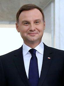 Andrzej Duda en 2015. (Pologne)
