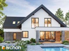 Dom w lobo Home Fashion, Larp, Pergola, Villa, Exterior, Mansions, House Styles, Building, Design