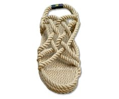 Hand Crafted Vegan Sandal Made Out of Rope