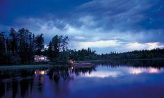 Nemeiben Lake in Lac La Ronge Provincial Park is a prime Saskatchewan camping spot.