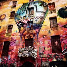 "A really interesting building called ""La Carboneria"" in Barcelona www.habitatapartments.com"