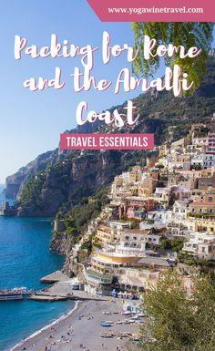 Yogawinetravel.com: Packing for Rome and the Amalfi Coast