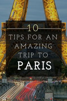 I believe #Paris should be visited by each and every one of YOU at least once! And when you do, here's how to spend your most amazing time in the French capital! [Click the photo]