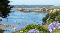 L'île de Brehat en Bretagne à marée basse - photo de Mes Petits Bonheurs