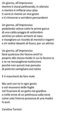 Poesia sulla mamma