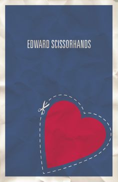 http://minimalmovieposters.tumblr.com/post/9716641224/edward-scissorhands-by-hunter-langston