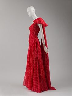 Valentino (Italian, born 1932). Dress, spring/summer 1987. The Metropolitan Museum of Art, New York. Gift of Thomas L. Kempner, 2006 (2006.420.93)