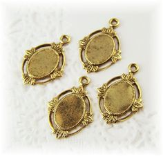 10x8 Victorian Style Antiqued Gold Plated by alyssabethsvintage, $2.85