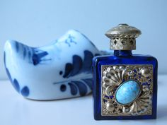 perfume bottle collection - Czech perfume bottle