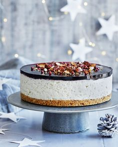 Cheesecake Recipes, Dessert Recipes, Desserts, I Love Food, Good Food, Food Crush, Christmas Sweets, Sweet Tooth, Mousse