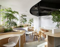 Muxin Design brings the 'forest' into Chinese office to create natural vitality