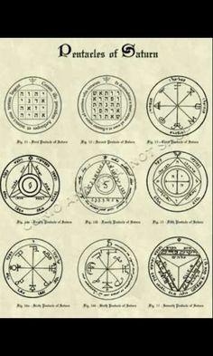 Pentacles of Saturn - King Solomon