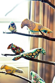 Oh this would be perfect in Iris' room! Bird Mobile, Pink Bird, Welcome Baby, Love Birds, Pretty In Pink, Iris, Kid Stuff, Child, Babies