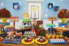 Toy Story Birthday Party Styling By Invento Festa Brazil Sweets by Doces-bolos maria celia photos by Pollyana Ribeiro This TOY STORY THEMED 2ND BIRTHDAY PARTY is just exquisite! There are so many f…
