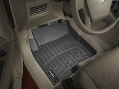 2012 Jeep Patriot   WeatherTech FloorLiner - car floor mats liner, floor tray protects and lines the floor of truck and SUV carpeting from m...