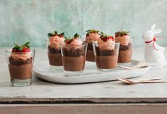 Amazing Chocolate Cheesecake Pots - Real Recipes from Mums