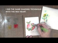 Assemble This! Card Distress Ink Watercoloring