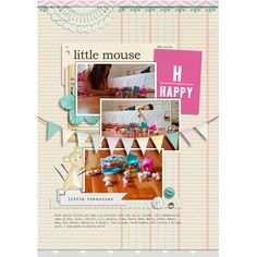 Little Mouse Treasures by Baers Garten Designs