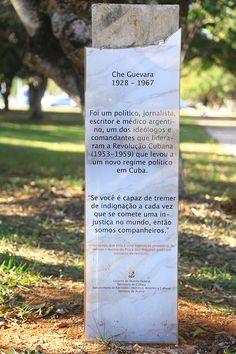 Brasília esquecida - Praça dos Próceres | Che Guevara | Cade a iimagem?