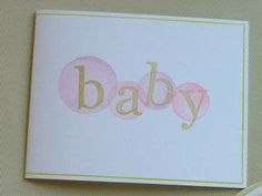 Baby Dots baby ideas, Impress rubber dot stamp